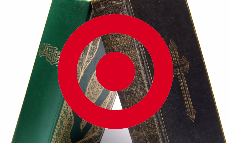 Target Accommodates Muslims, but Not Christians