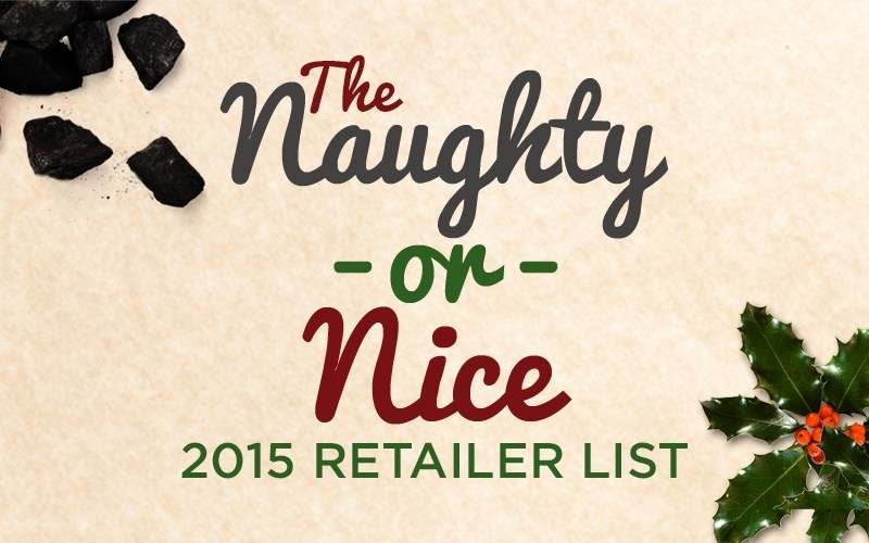 AFA's 2015 Naughty or Nice Store Listing
