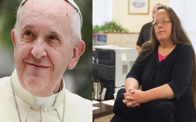 Vatican Pre-approves Kim Davis Press Release