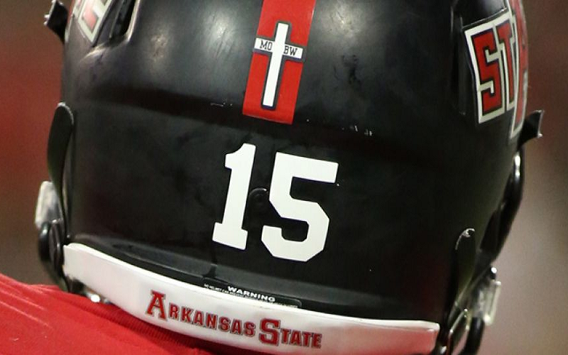Cross On a Helmet?
