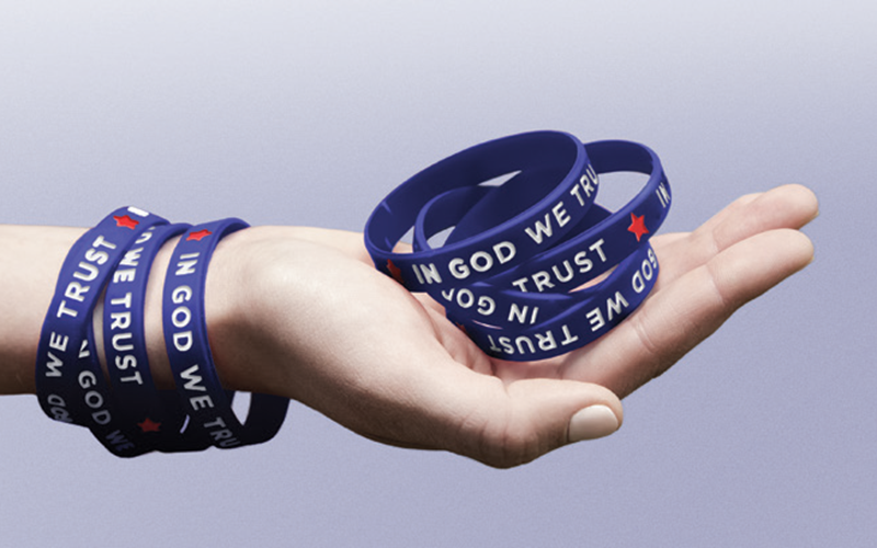 Free Wristband by July 4 If Ordered Today!