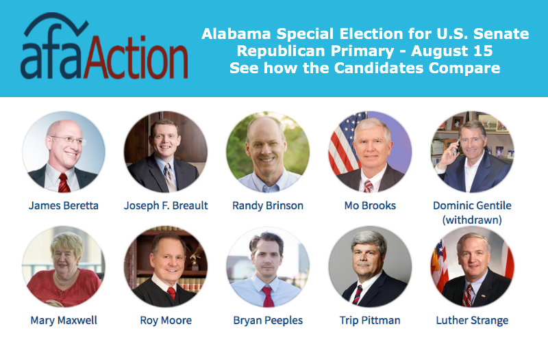 Alabama Voter Guide for Senate Special Election