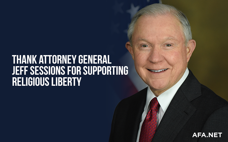 Thank Attorney General Jeff Sessions for standing against political correctness