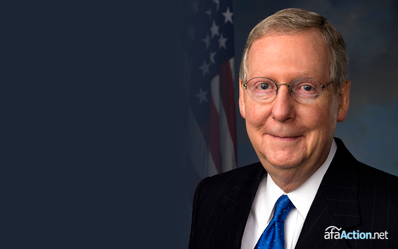 "Sen. McConnell Should ""Get to Work"" or ""Step Down"""