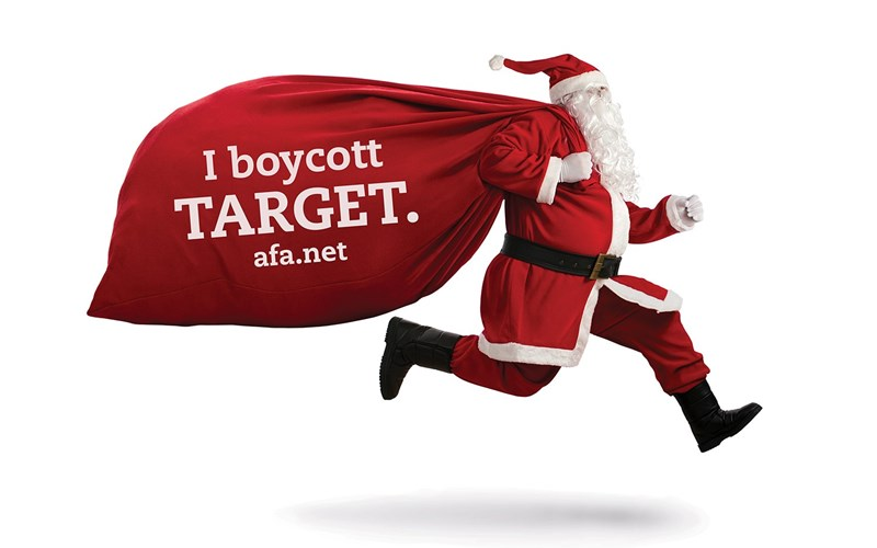 Three convincing reasons to boycott Target this Christmas