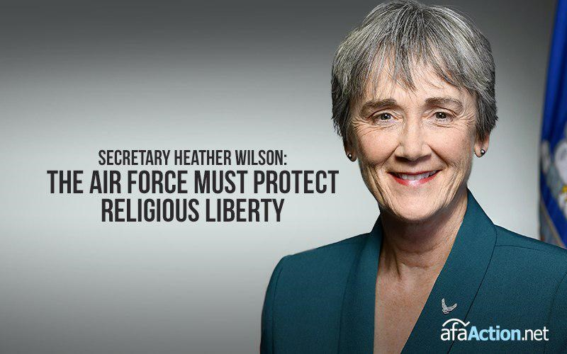 Tell Air Force Secretary to end religious discrimination