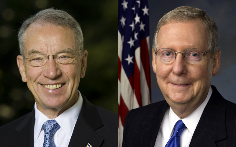 Tell Senators Grassley and McConnell to Advance Pres. Trump's Judges