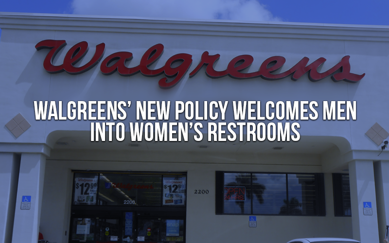 Walgreens' new policy welcomes men into women's restrooms