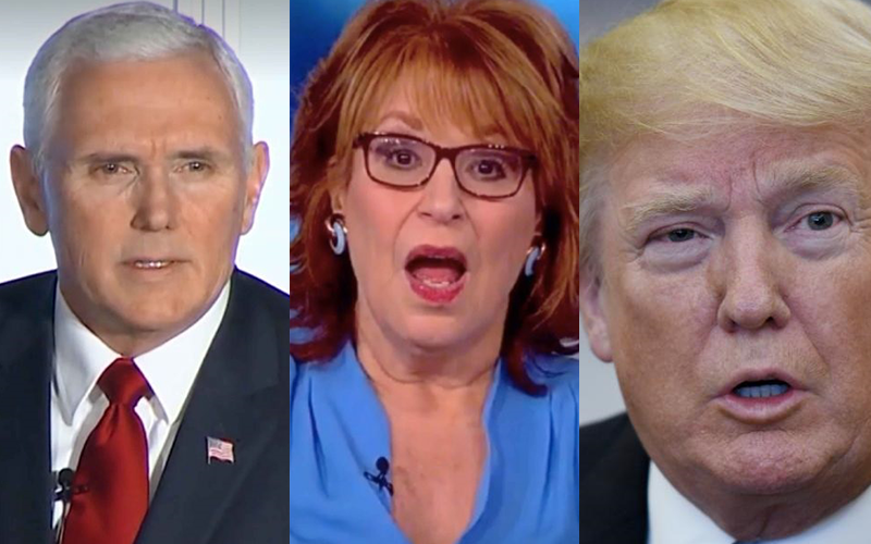 Joy Behar, Mike Pence, Donald Trump, and the Question of Public Apologies