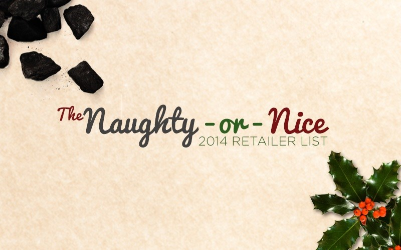 AFA's 2014 Christmas 'Naughty or Nice' Store Listing