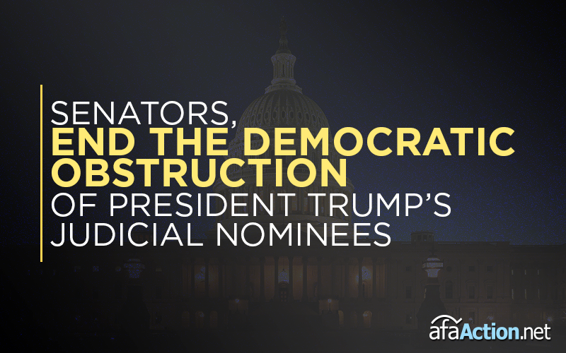 Senators should end Democratic obstruction of judicial nominations