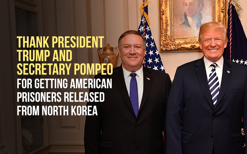 Breaking News! Trump announces release of American prisoners from North Korea