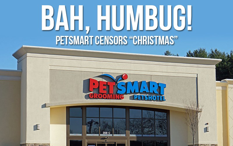 PetSmart in the Dog House for Leaving 'Christmas' Out of Shopping Season