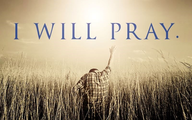 "Will You Make the ""I Will Pray"" Commitment?"