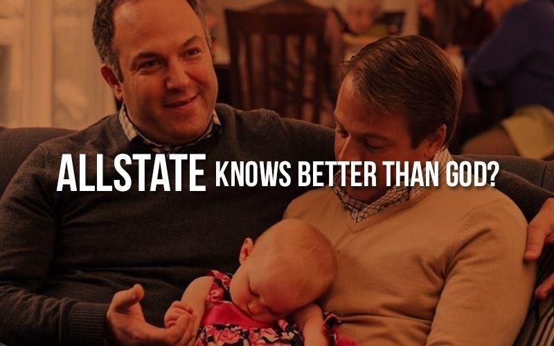 Allstate Promotes Gay Adoption