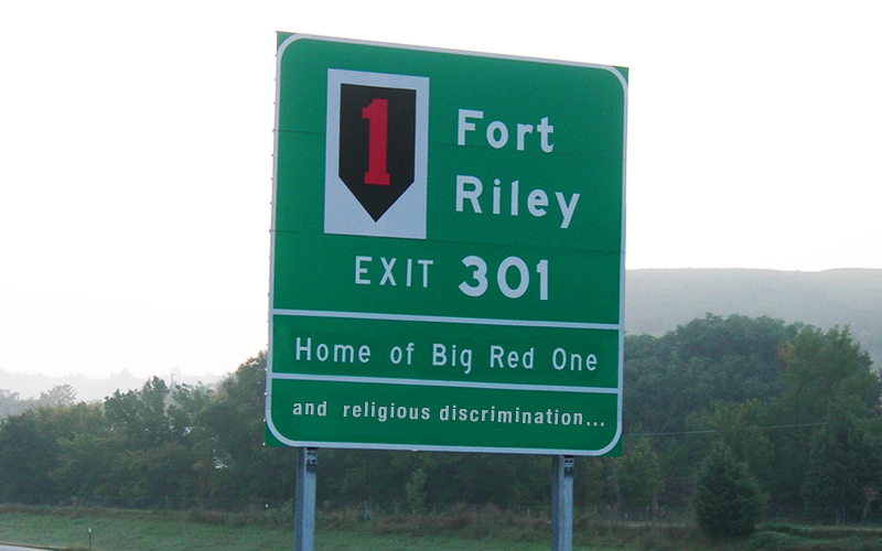 Fort Riley Engages in Religious Discrimination