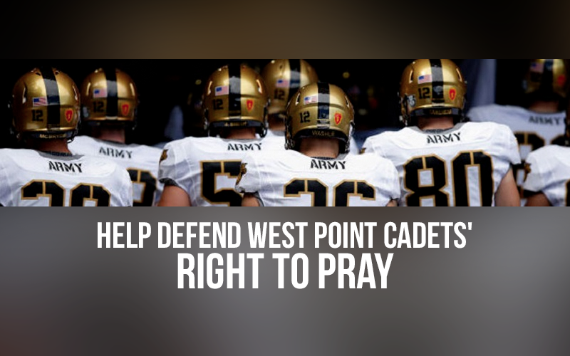 Help Defend West Point Cadets' Right to Pray