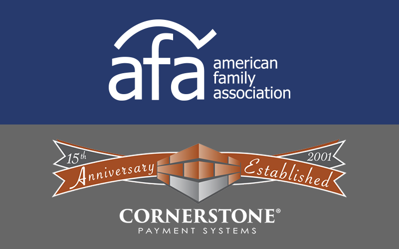 AFA Introduces Partnership with Cornerstone Payment Systems