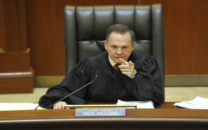 Judge Moore Only One Following Constitution