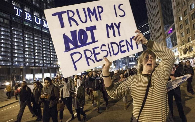 Presidential Protestors Don't Understand America
