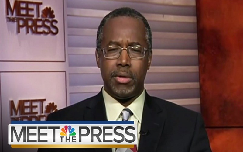 Ben Carson and Civil Unions