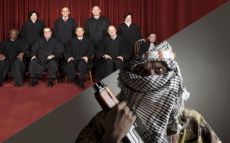 Supreme Court Increases Likelihood of Muslim Attack