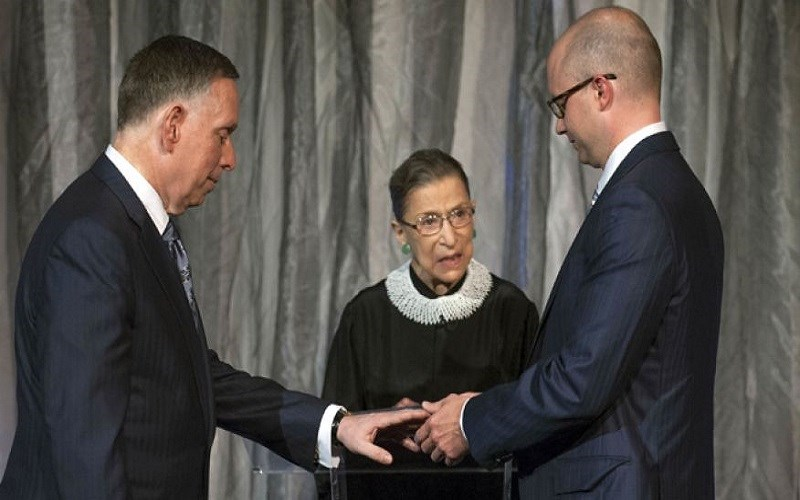 Ginsburg Tips Her Hand