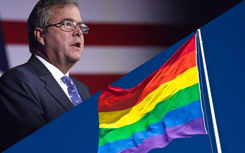 Either Pro-Gay Jeb Is Toast in 2016 or the GOP Is