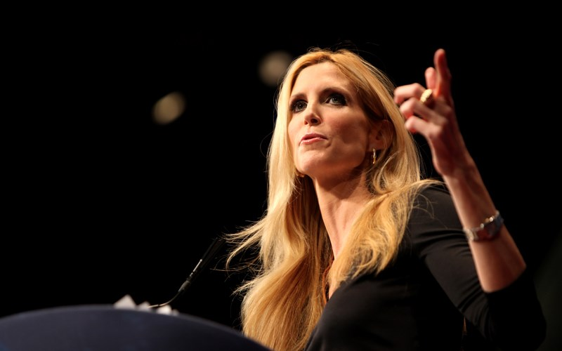 Ann Coulter is dead wrong!  - Here's Why