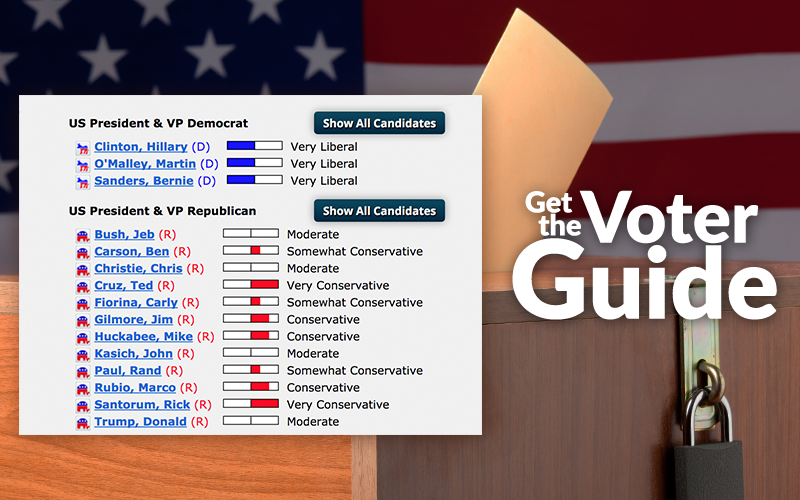 AFA Releases Presidential Voter Guide