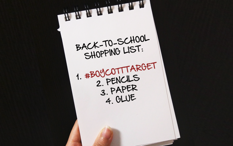 Avoid Target: Do your back-to-school shopping elsewhere