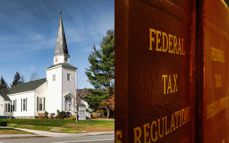 Republicans Tax Churches, Yes, You Read That Right