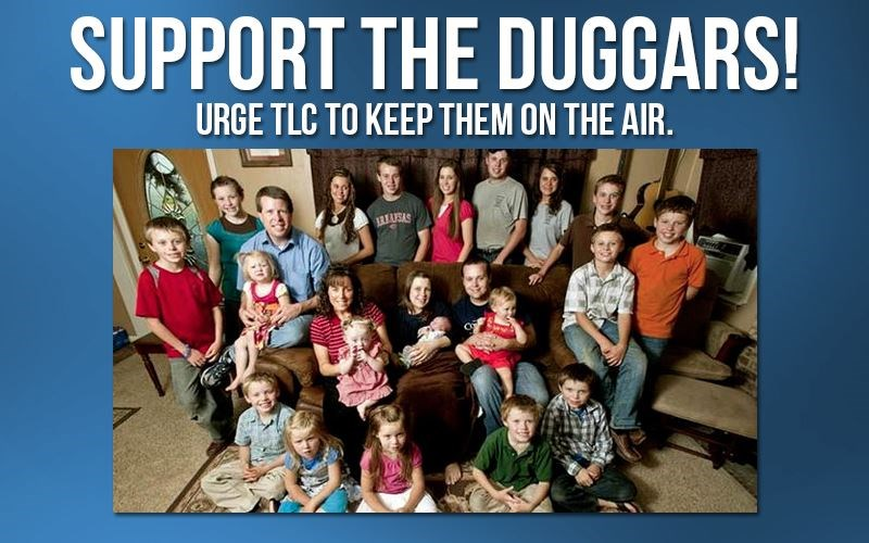 1MM Solicits Support for Duggar Family