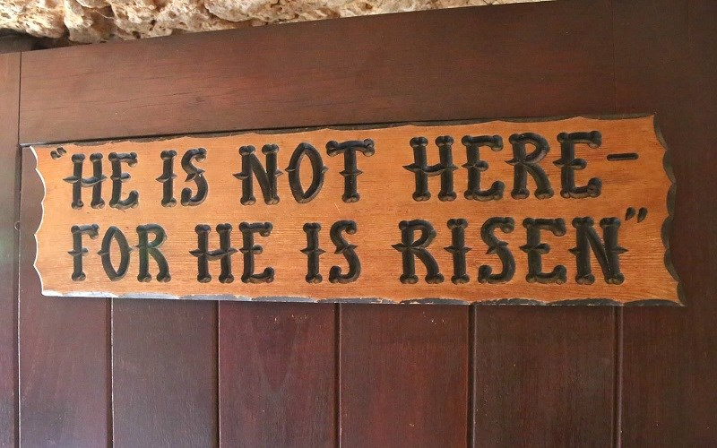 He Is Not Here, For He Is Risen!