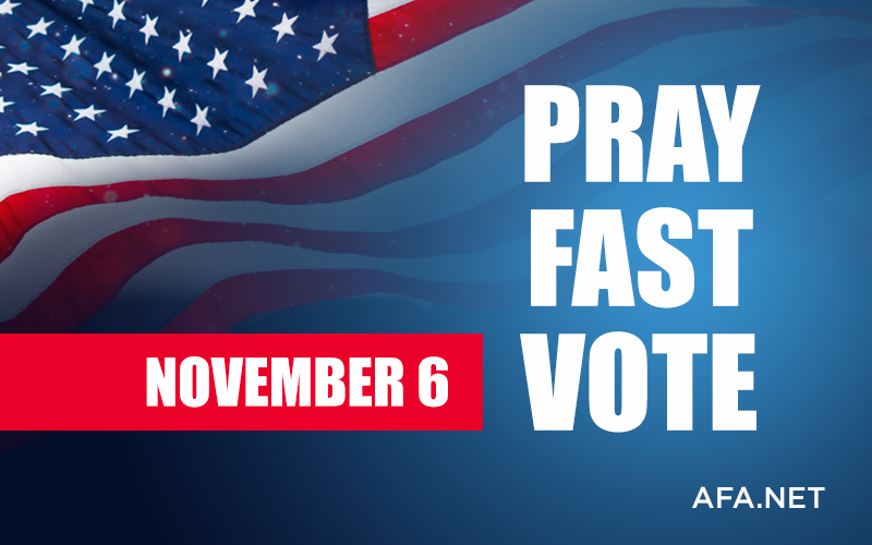 AFA designates Monday, Nov. 5, as day of prayer and fasting