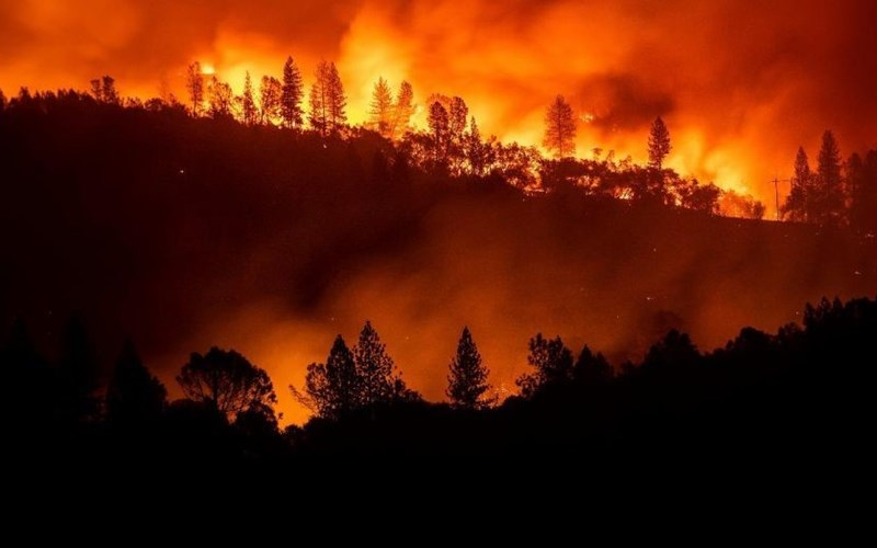 Where Was God When California Burned?