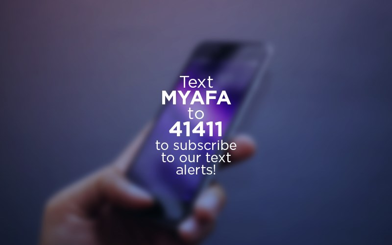 Join AFA's New TEXT ALERT Group