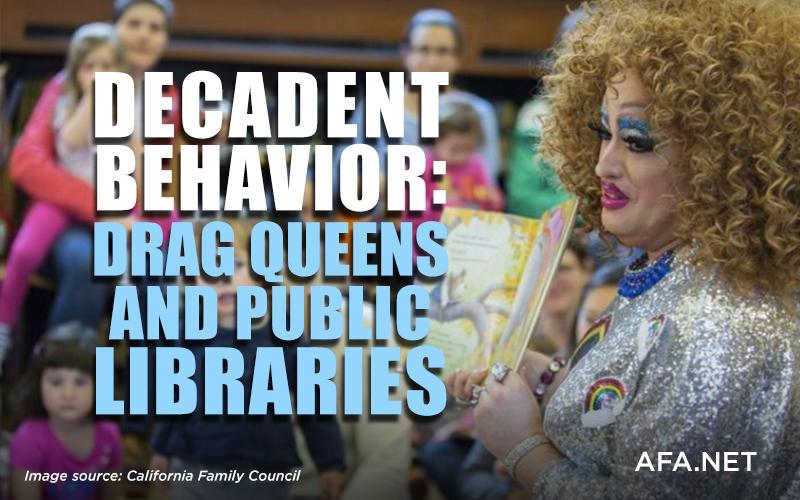 Decadent behavior: Drag queens and public libraries
