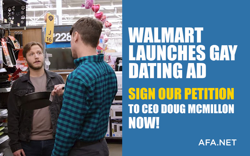 Walmart launches gay dating ad