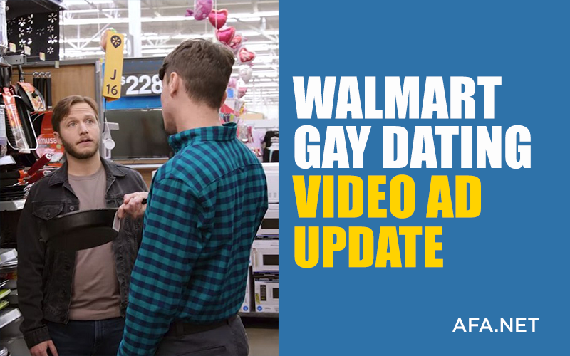Walmart Gay Dating Video Ad Update