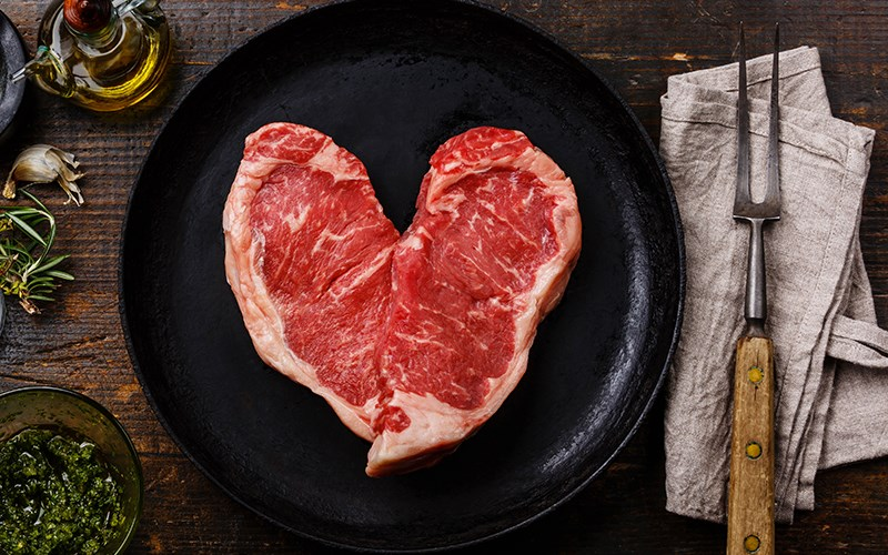 A Steak, a Scarf, and a Cell Phone: Love in the First Degree