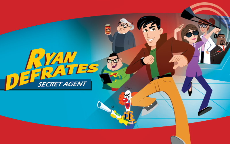 Ryan Defrates: Secret Agent - New AFA Animated Series for Kids