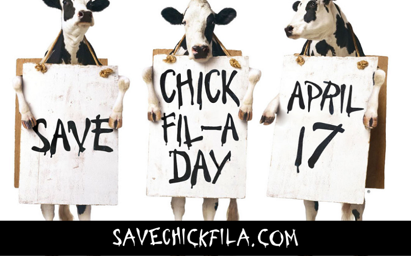 On Wednesday, April 17, help support Chick‑fil‑A