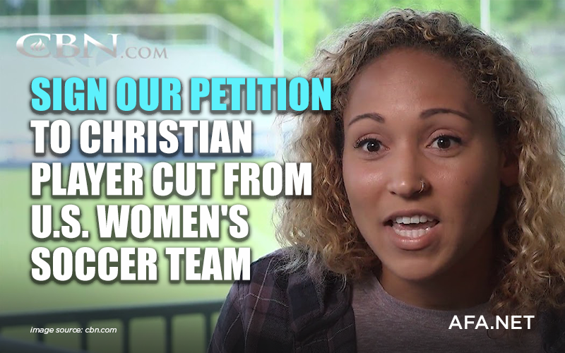 Sign our petition to Christian player cut from U.S. women's soccer team