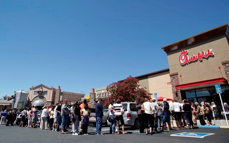 Chick-Fil-A  is New #1 Despite Anti-Christian Animosity