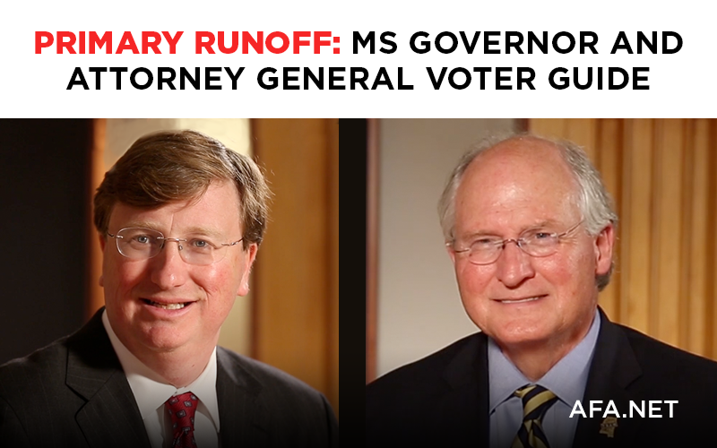 MS Governor and AG Voter Guide for Primary Runoff