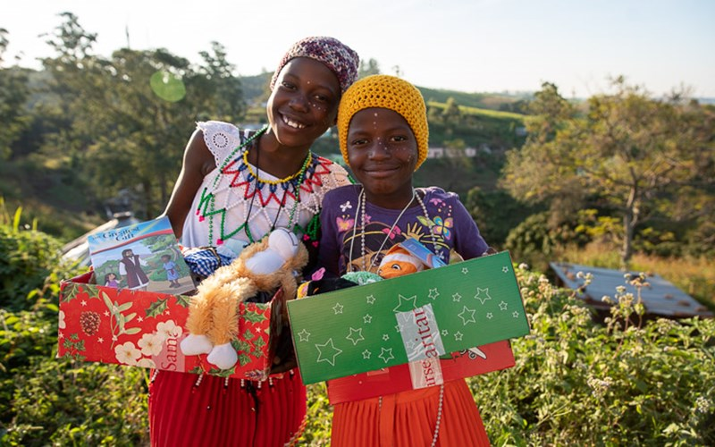 Shoeboxes Are an Answer to Children's Prayers