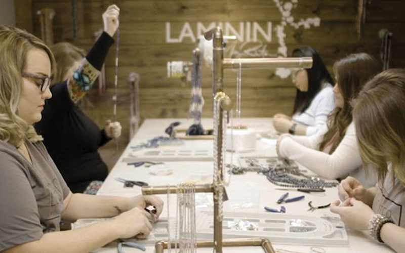 Laminin: Jewelry With a Purpose