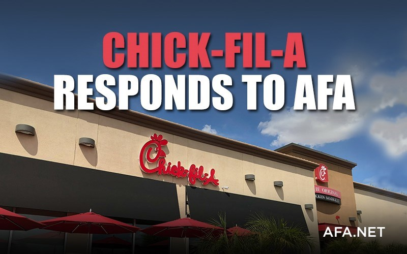 Chick-fil-A responds to AFA letter