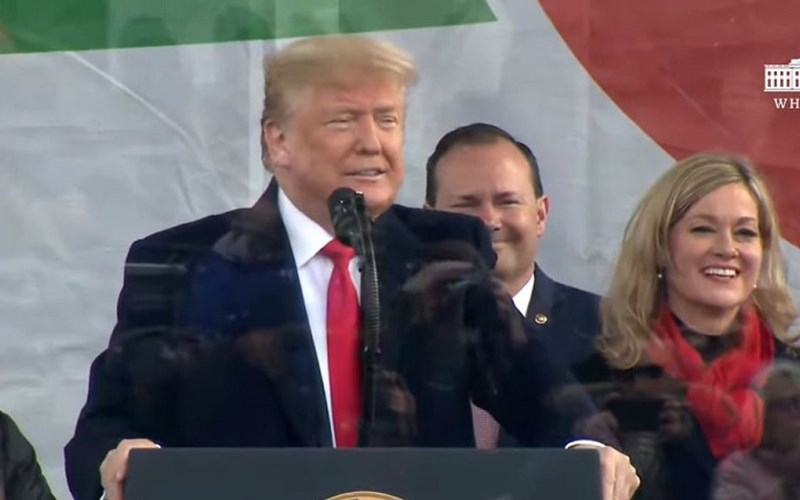 President Trump makes history at March for Life